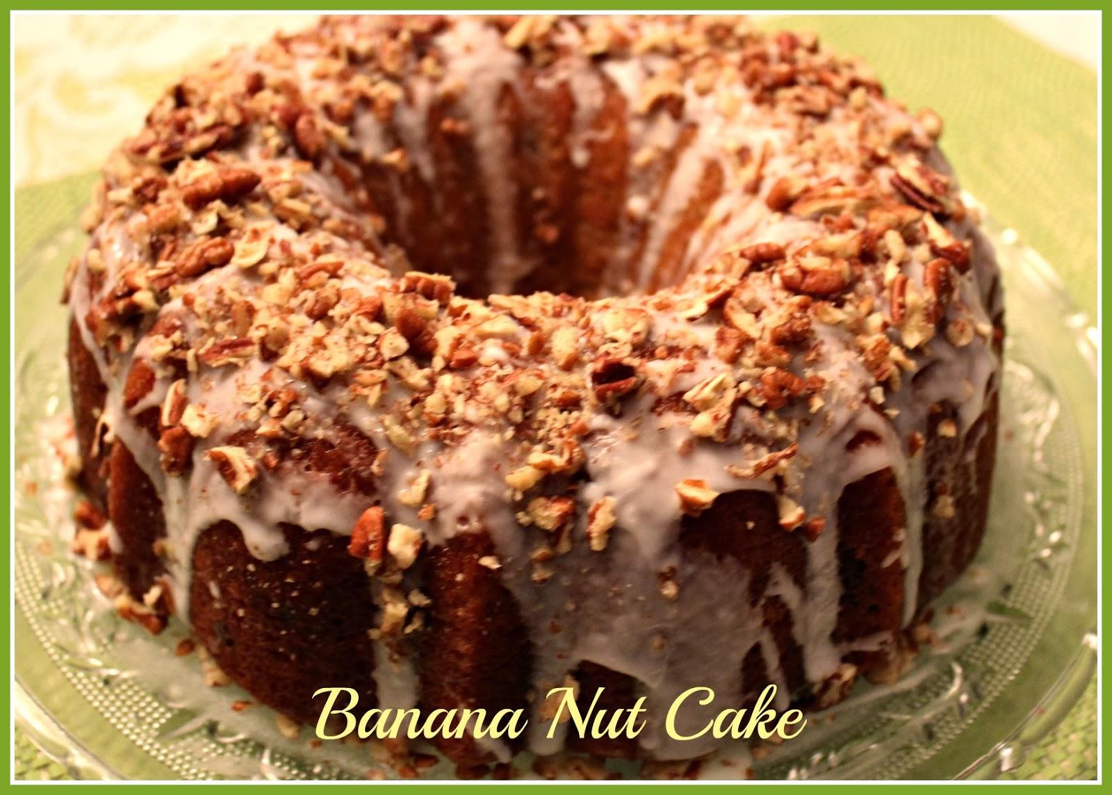Banana Nut Cake From Mix
