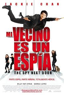 Carátula Mi vecino es un espia película dvdrip latino