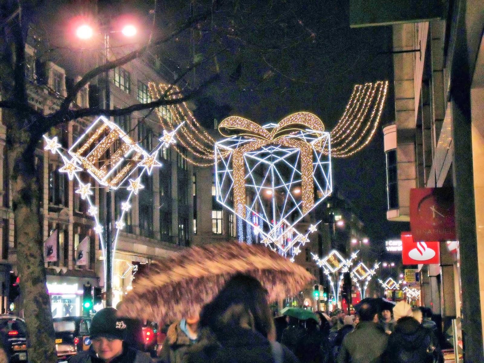 Illuminazione Natale Londra : ... il video del 2015 sulla pagina Face ...