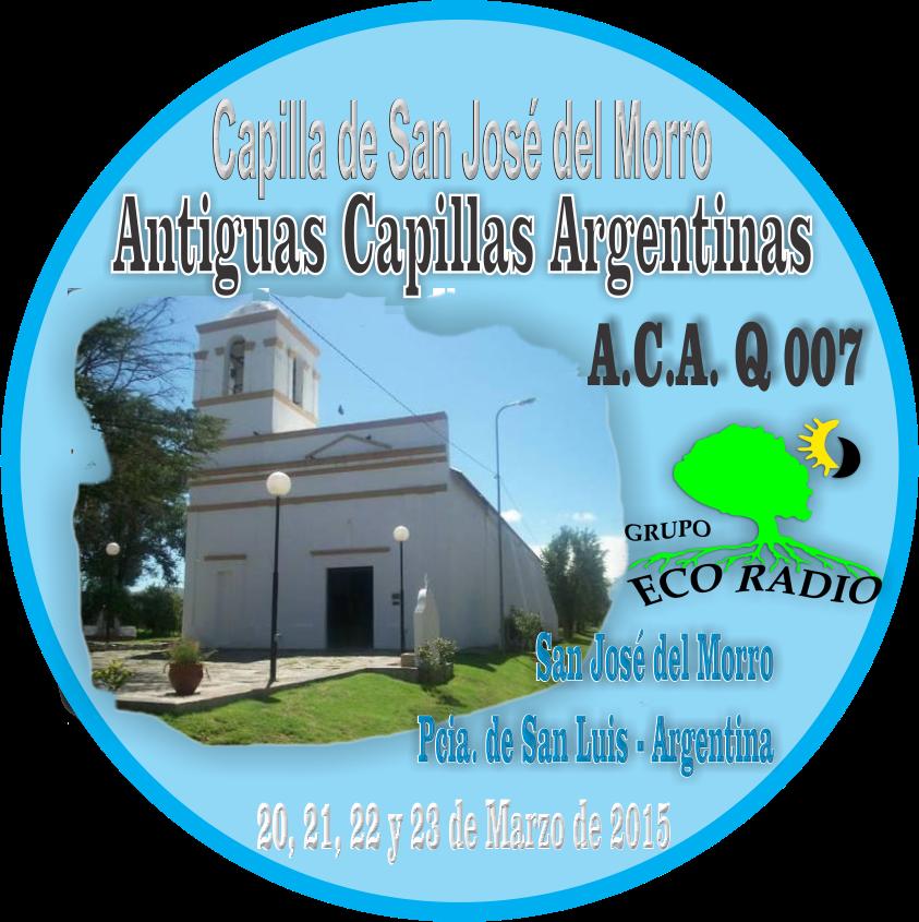 PIN Capilla San José del Morro A.C.A Q 007