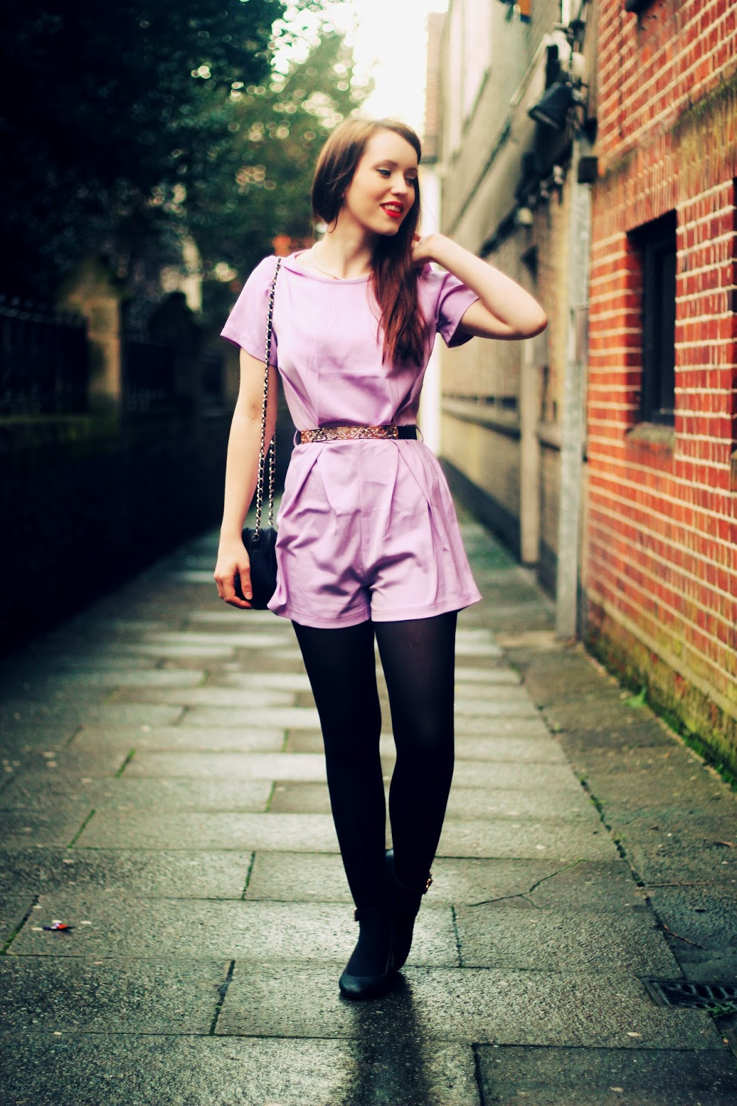 top uk british fashion blogger pastel lilac outfit