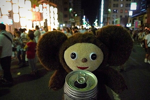 チェブラーシカと祇園祭