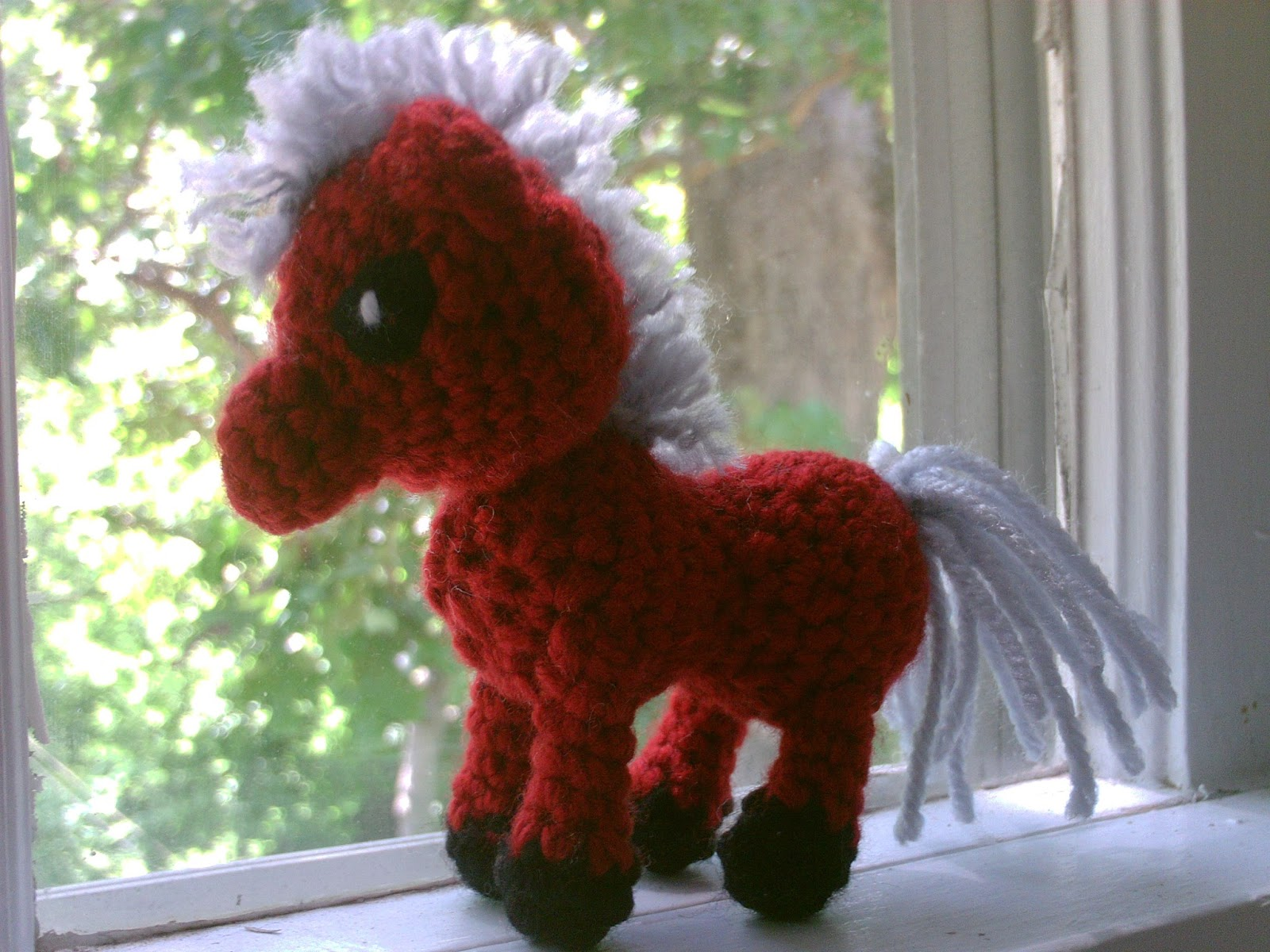 Amigurumi Mini Pony : Amigurumi - Knitted and Crocheted: Mini Horse