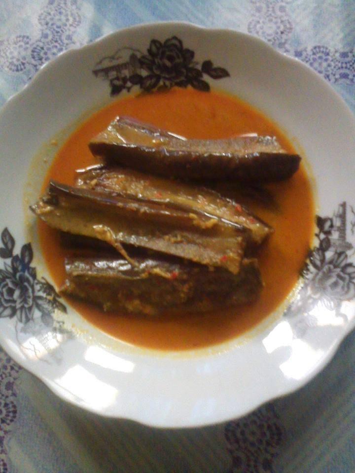 Resep terong kari dari dapur kusNeti @2015