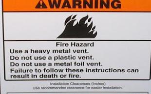 Fire Hazards in Dryer Vents