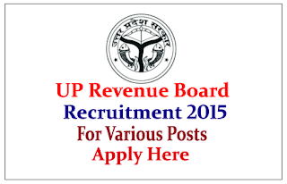 Uttar Pradesh Revenue Department Recruitment 2015 for the various posts-6323 Vacancies