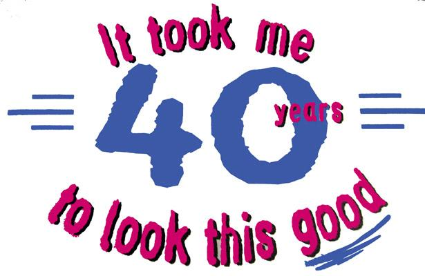 40 Year Birthday Wishes http://thissavvylife.blogspot.com/2012/11/turning-40.html