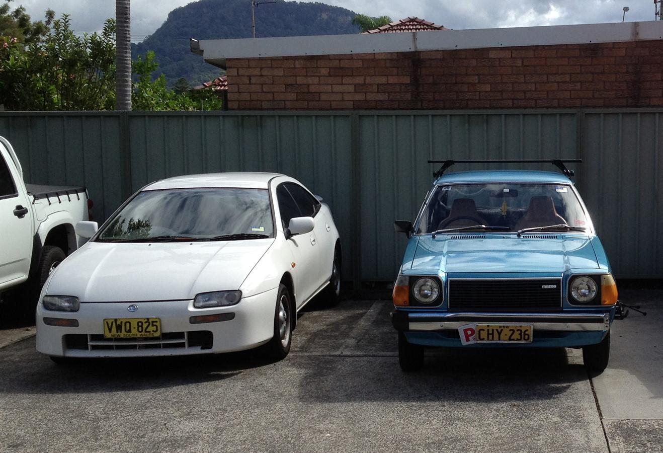 Mazda 323F BA, 323 FA, GLC, japońskie samochody, motoryzacja, kultowe auta, ciekawe, fajne, desing