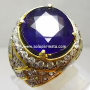 Batu Permata Blue Sapphire - Kode 12L02