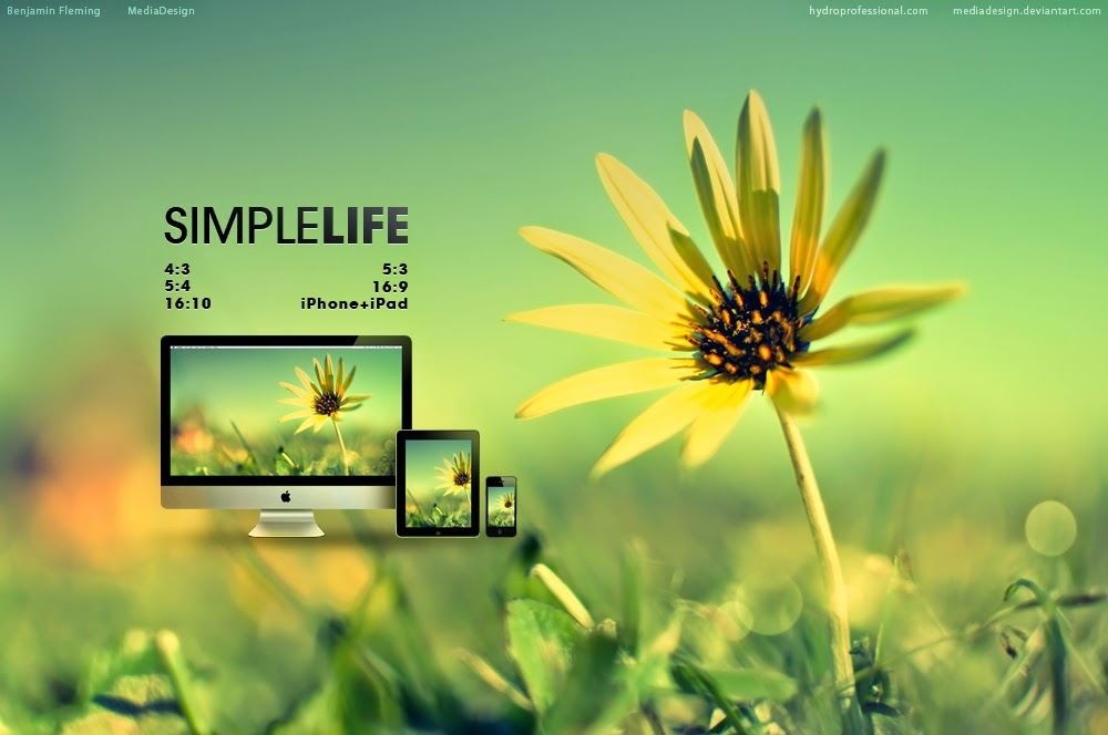Simple life wallpaper for Simplistic lifestyle
