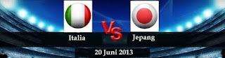 Italia vs Jepang