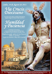 PARA EL RECUERDO. CARTEL VIA CRUCIS DIOCESANO DE CÁDIZ 2011.