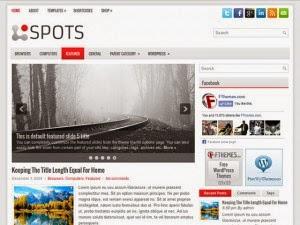 Spots - Free Wordpress Theme
