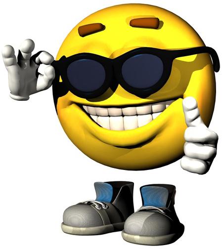 cooler smiley