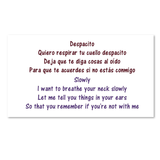 despacito meaning