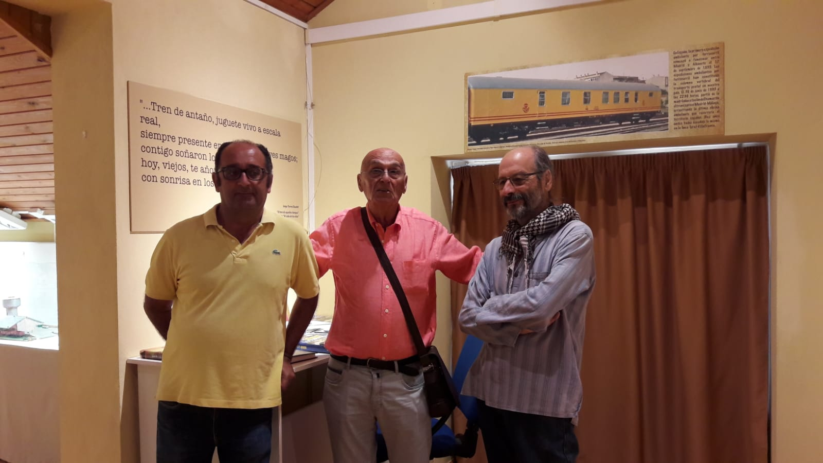 Calurosa acogida me dispensaron Sergio García Valcárcel, Teniente de Alcalde de Toral de los Vados