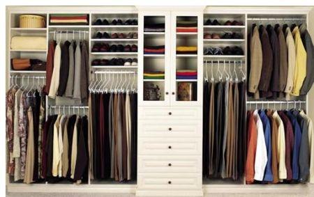 De indeling van een kledingkast of linnenkast is dan ook van groot ...