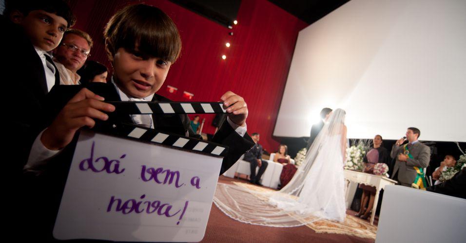 decoracao casamento tema cinema:Casamento de gente que curte cinema. As possibilidades são infinitas