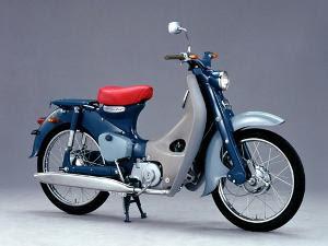 motor honda bebek kuno