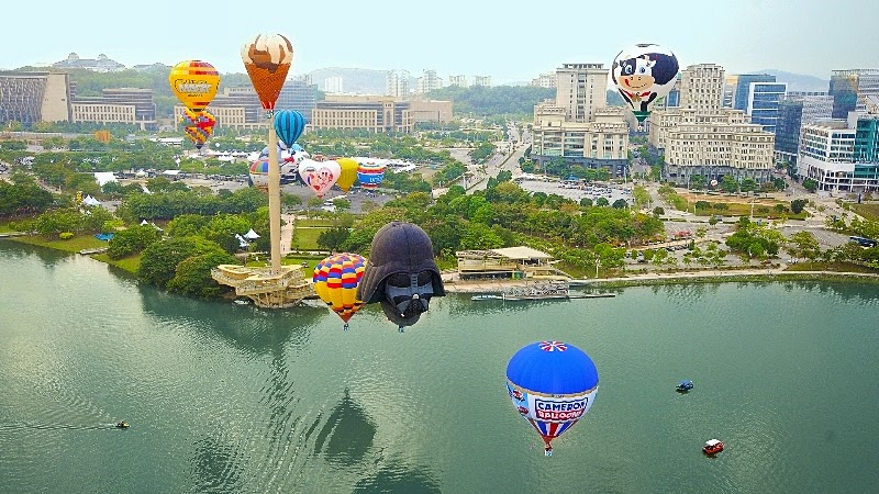 7 Reasons Why You Should Not Miss,7th Putrajaya International Hot Air Balloon Fiesta (PIHABF),  Van Gogh Balloon, Night Glow with Fireworks,  Helicopter Joy Rides, Extreme zones