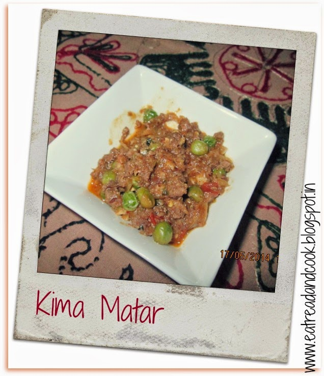 how to cook keema matar