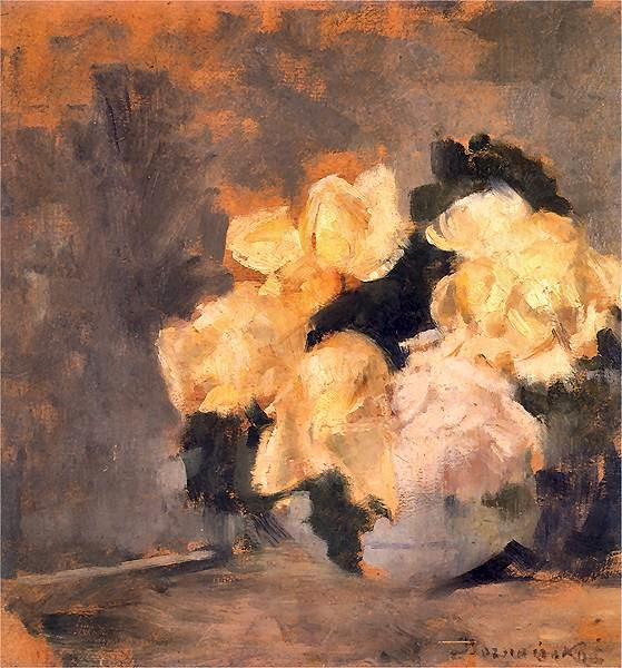Olga Boznańska - Róże