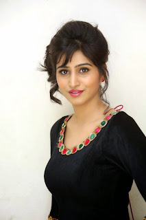 Shamili Looks Ultra Cute and Beautiful in Front Cut Anarkali Dress from PiaTrends.com