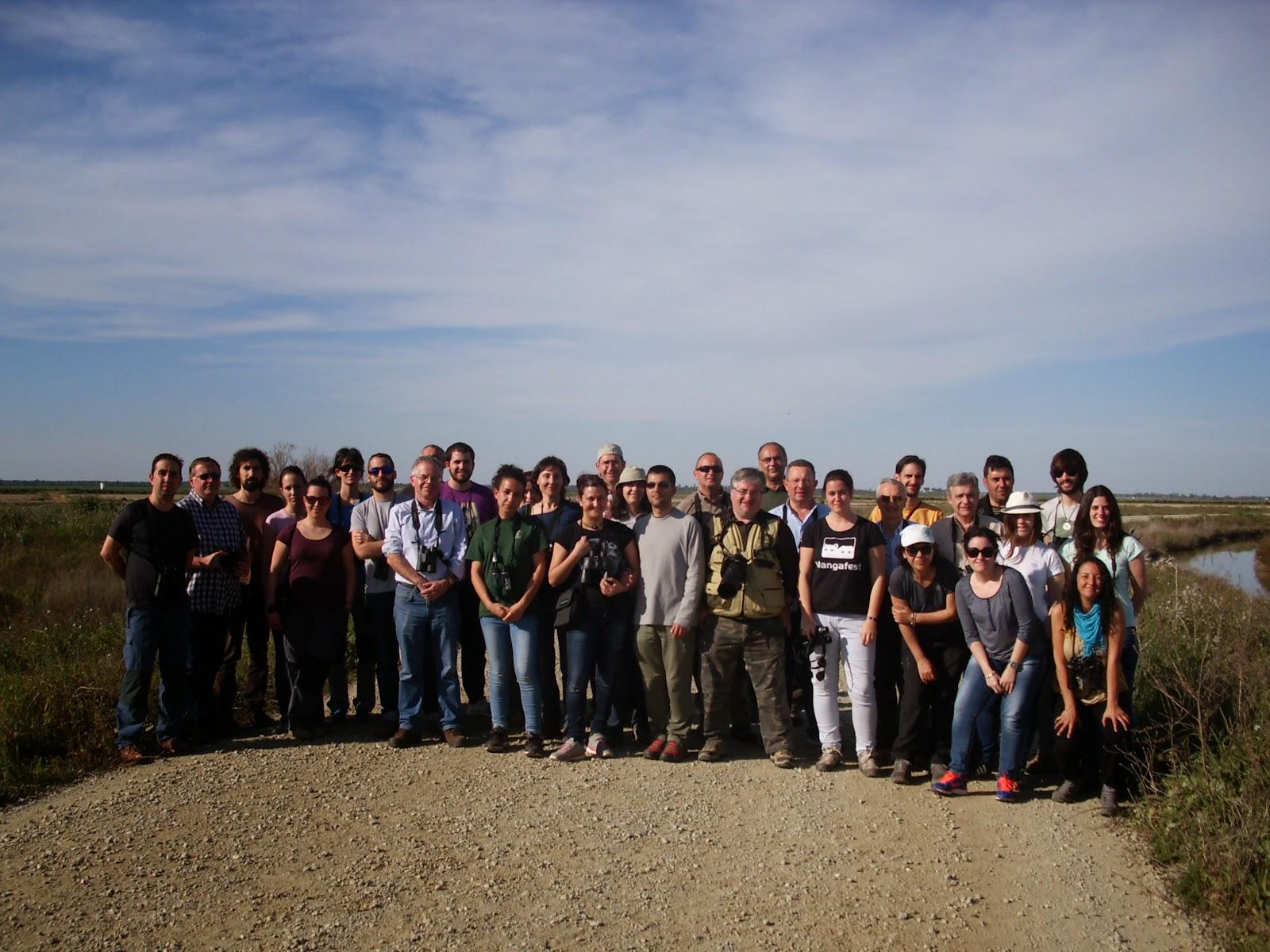 XV Curso de Iniciación a la Ornitología, Edición 2015. Organizado por Grupo Local SEO-Sevilla.