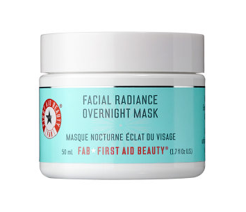 First Aid Beauty, First Aid Beauty Facial Radiance Overnight Mask, skin, skincare, skin care, face mask, product review, Sephora