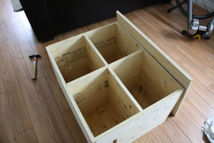 Homemade plyo box step by step guide for Building box steps