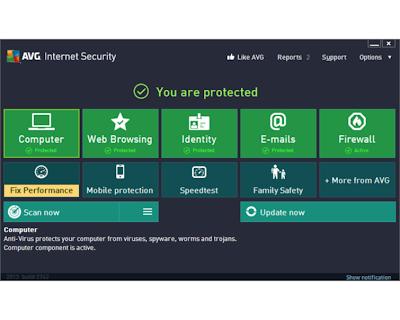 AVG Internet Security 2013 [Seriales Full hasta el 2018][Español