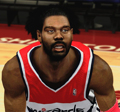 Description: This patch for NBA 2K13 updates the cyberface of Nene who