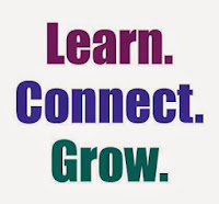 "Promotional slogan: ""Learn. Connect. Grow."" (with your Library)"