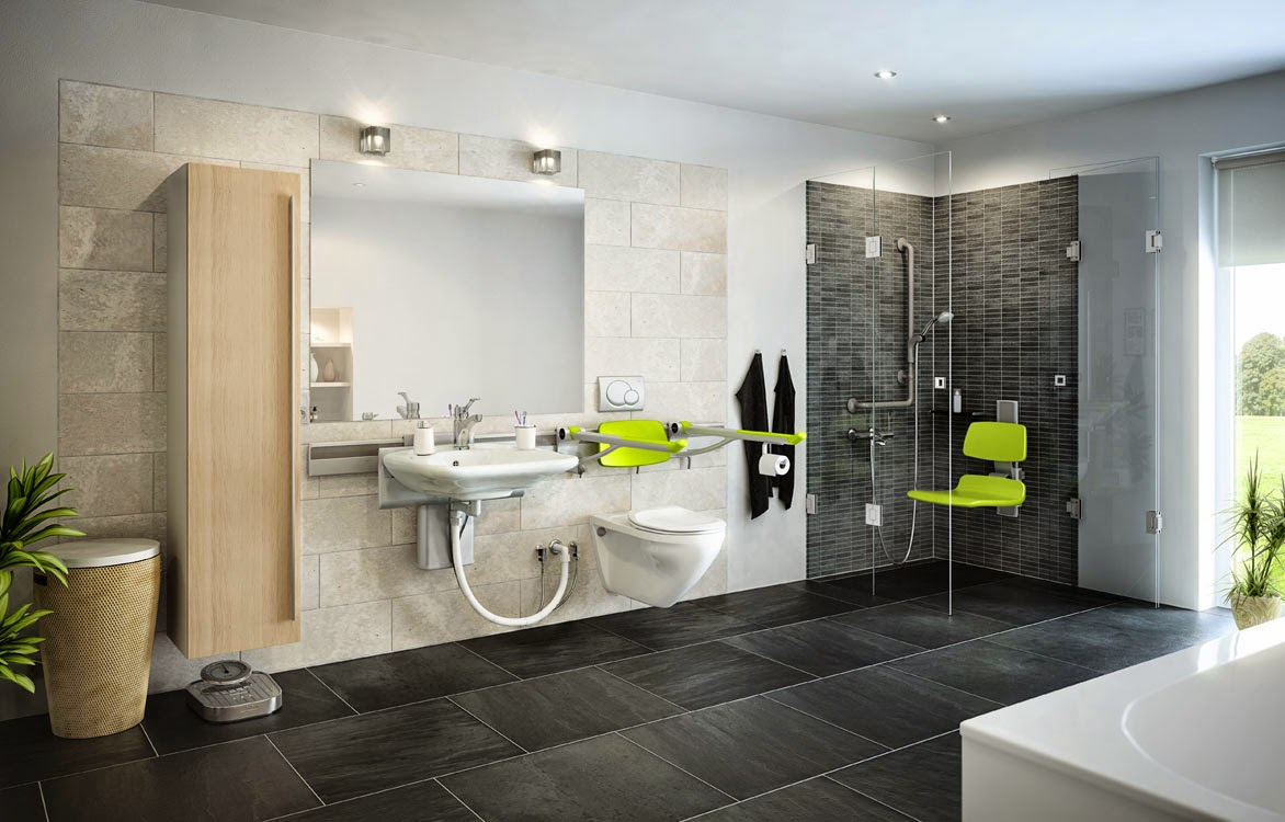 Accessible bathroom design for Accessible home design