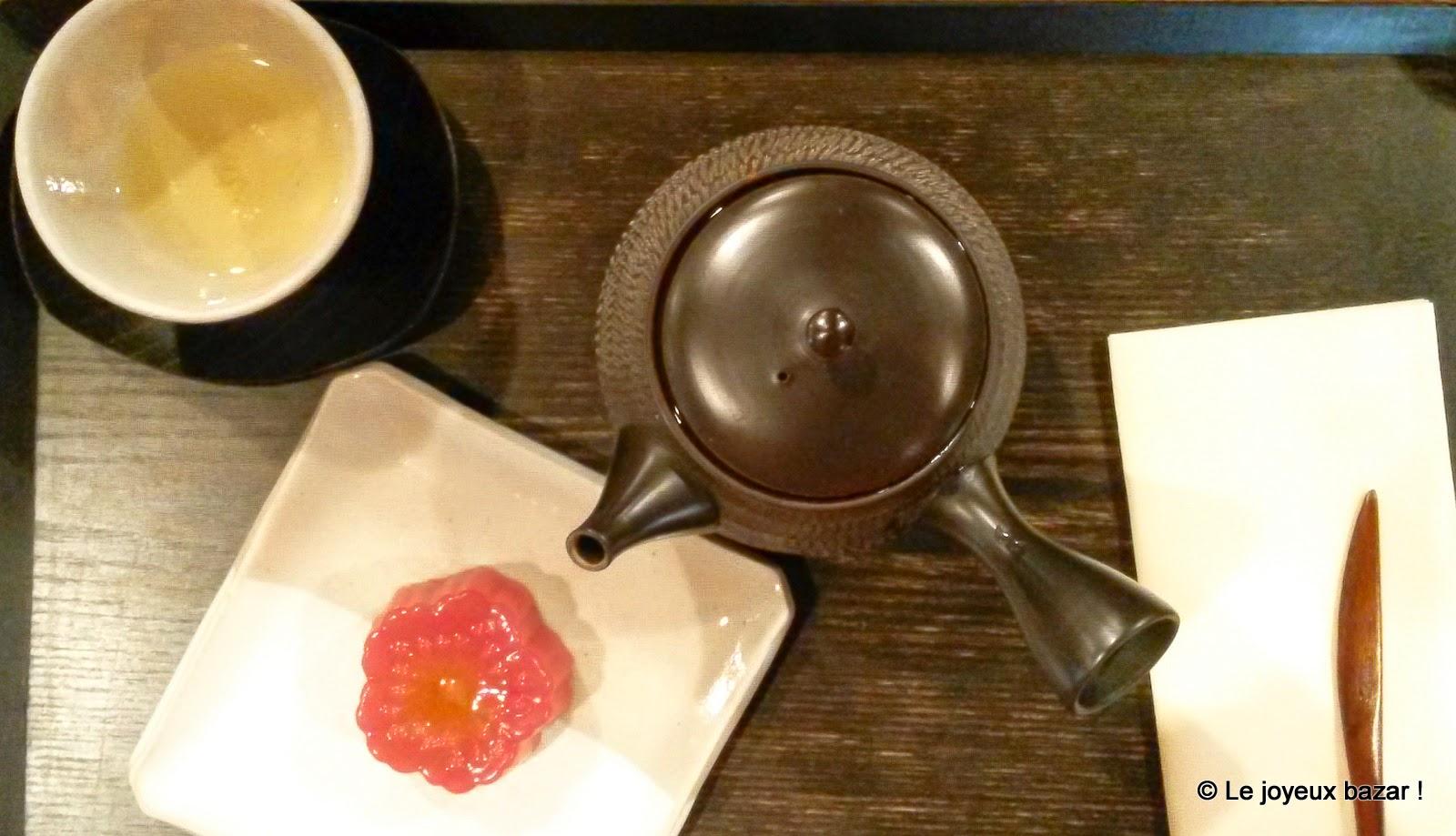 Paris - salon de thé japonais Toraya
