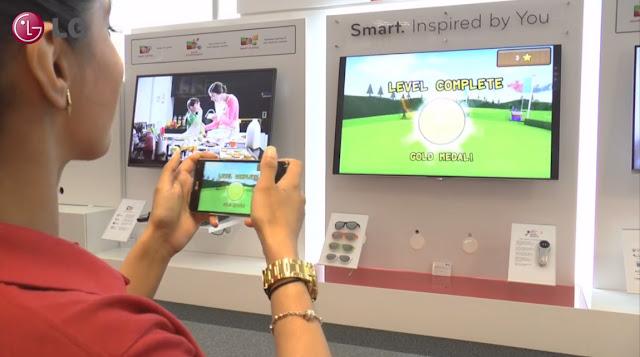 Hướng dẫn chia sẻ màn hình điện thoại lên màn hình tivi LG