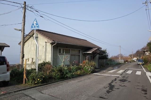 下灘駅 駅舎