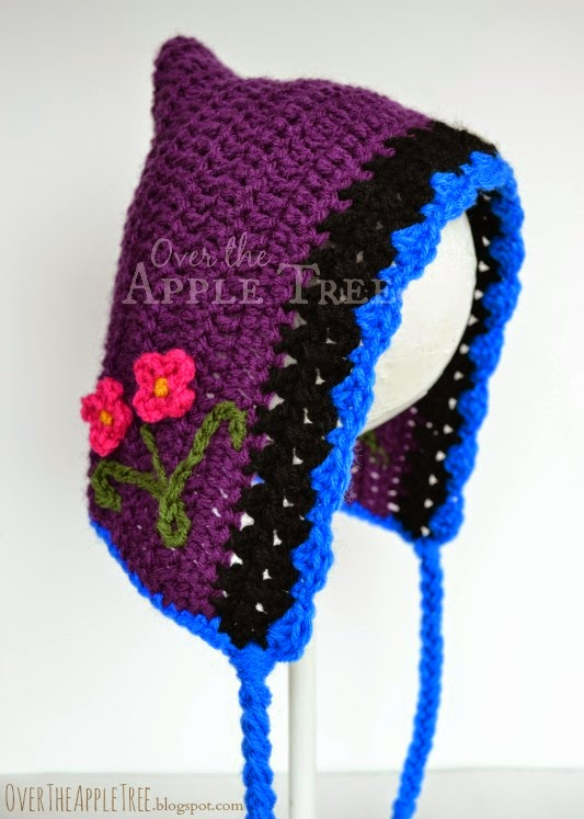 Over The Apple Tree Princess Anna Crochet Hat