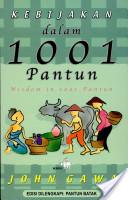 Kebijakan dalam 1001 pantun By John Gawa