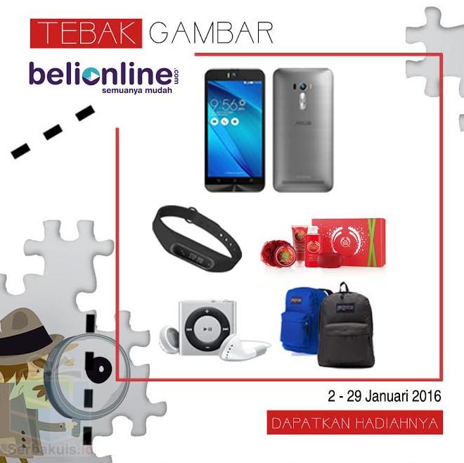 Kuis Tebak Gambar Belionline Berhadiah ASUS Zenfone Selfie