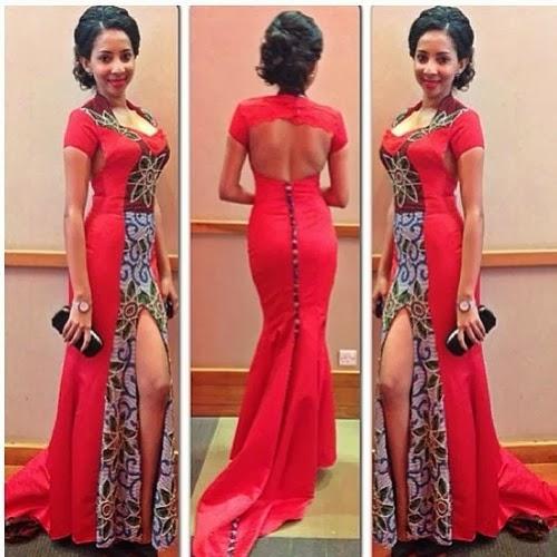 Creative Nigeria Ankara Wedding Gown Debonke House Of Fashion
