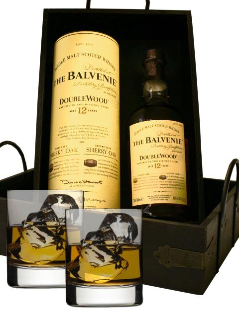 Balvenie Doublewood Single Malt Scotch Gift Set