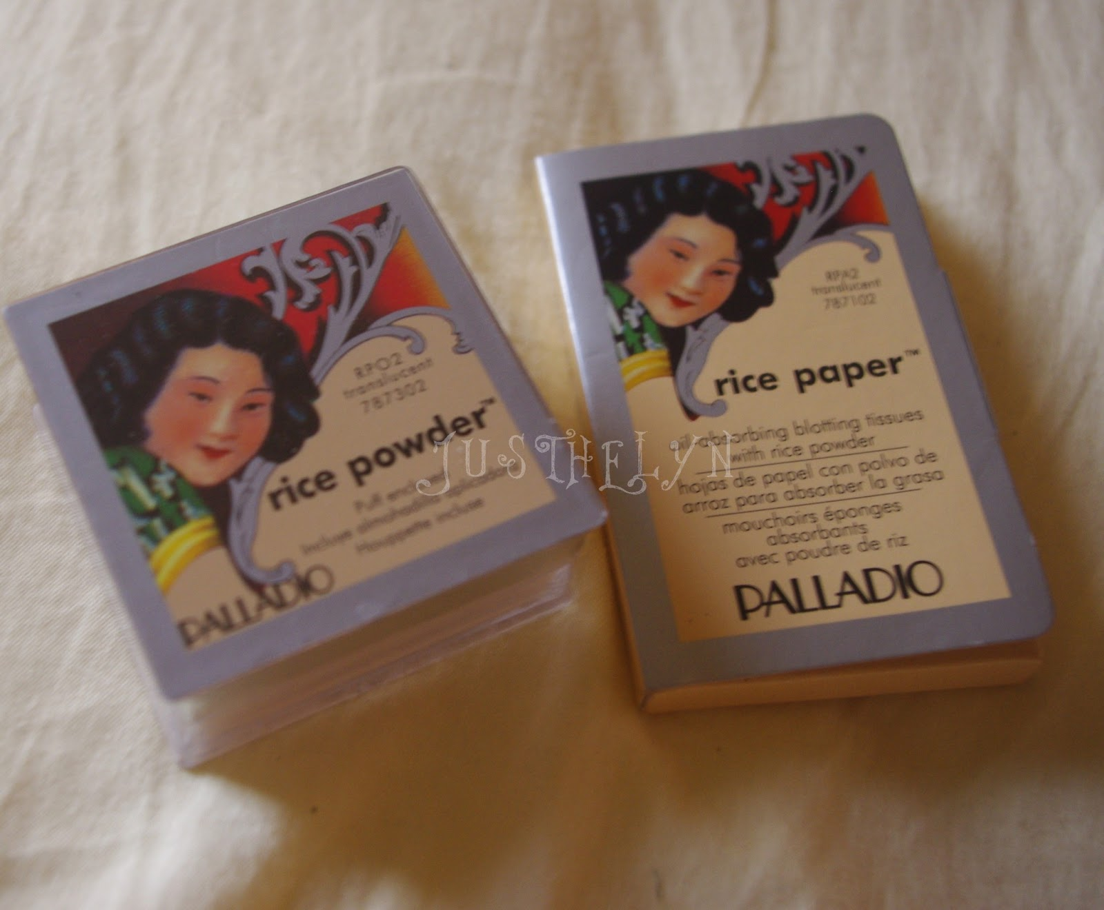 Kittypinky: REVIEW: PALLADIO RICE POWDER-PAPER