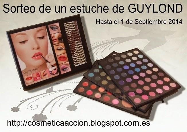 ¡SORTEO – un estuche de maquillaje de GUYLOND PARIS!