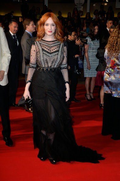 Christina Hendricks Carries Thalé Blanc