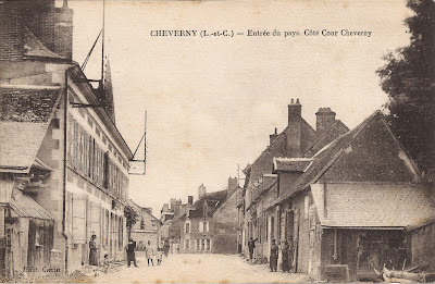 Cheverny - Eglise et abords