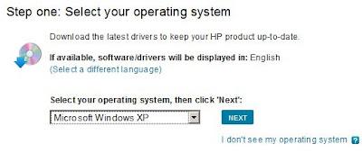 изображение Выбрать тип операционной системы