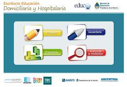 Escritorio Educación Domiciliaria y Hospitalaria