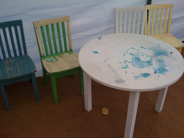 Pottery Barn Kids Table and Chairs