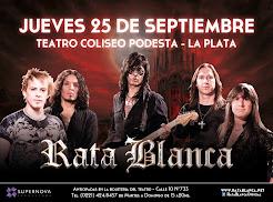 """RATA BLANCA EN EL """"TEATRO COLISEO PODESTÁ"""" - 25/09/2014"""